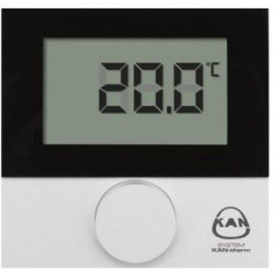 Термостат с LCD за LAN система