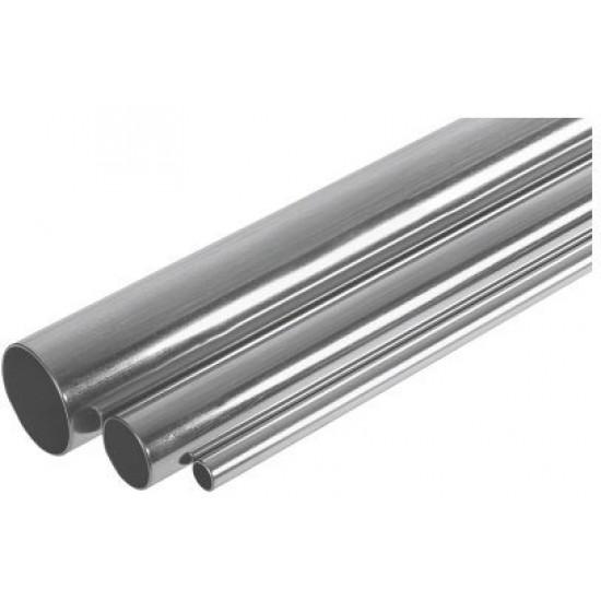 Тръба от въглеродна стомана, външ.поцинкована - пръти 6 m